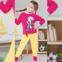 Kız Çocuk Koton Takım