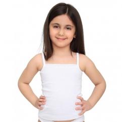 Askılı Kız Çocuk Atlet