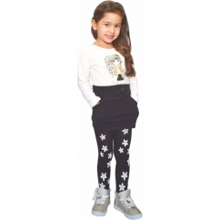 Kız Çocuk Yıldız Desenli Çorap