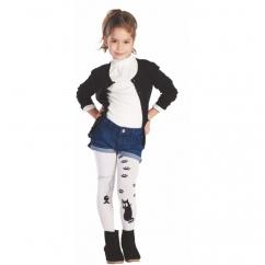 Kız Çocuk Kedili Çorap