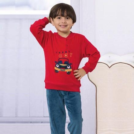 Kadife Çocuk Takım KT1187