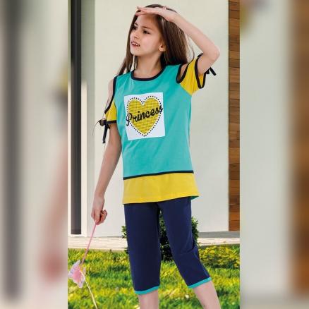 Kız Çocuk Koton Takım KT1873