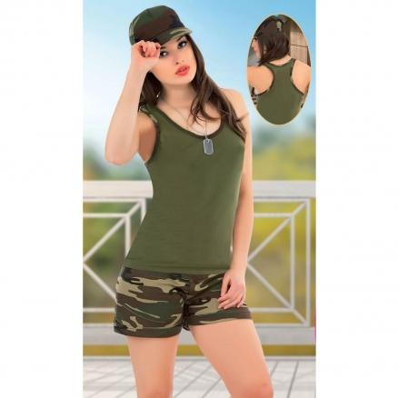Asker Şortlu Takım