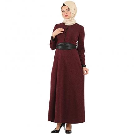 Uzun Triko Elbise