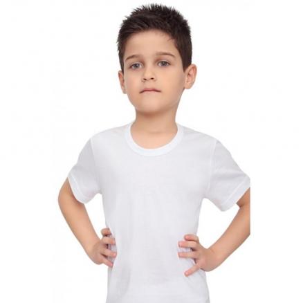 Erkek Çocuk Yuvarlak Yaka Atlet