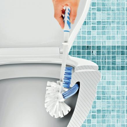 Üç Fonksiyonlu Tuvalet Fırçası