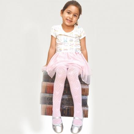 Desenli Külotlu Çocuk Çorabı