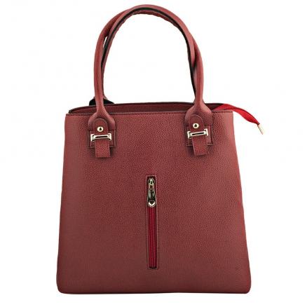Kırmızı Deri Çanta