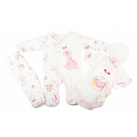 5 Lı Bebek  Giyim Seti